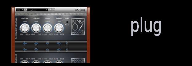 King OZ: VSTplug vocal gate
