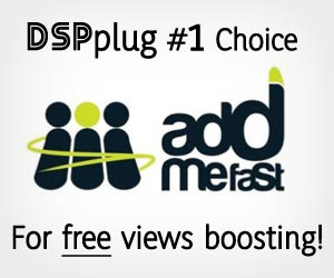 DSPplug's favorite free social (views) boosting program!